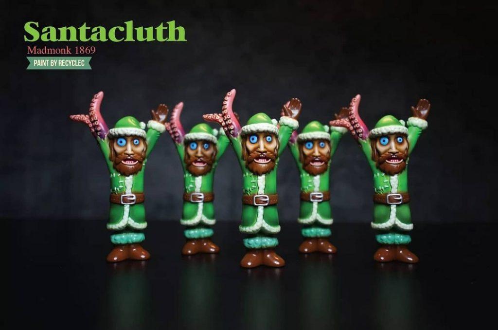 Santa Cluth de Mad Monk