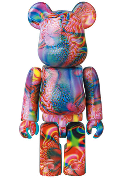 Dylan's Candy Bar Bearbrick Series 41 Pattern Psychedelic