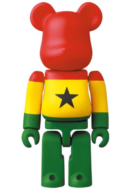 Ghana Flag Bearbrick