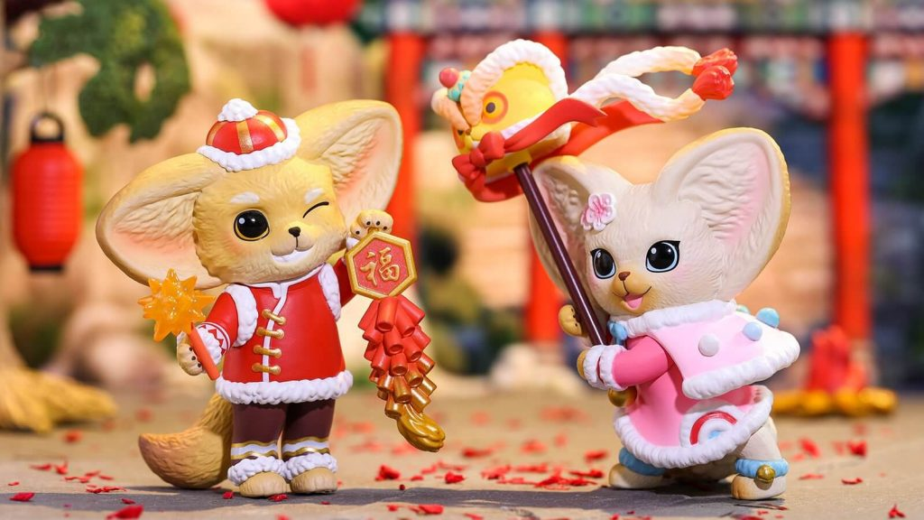 Kenneth New Year Fennec Dance Series de Popmart x Yoyo Yeung