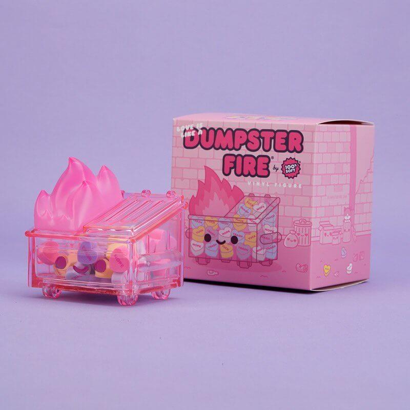 Love is Like a Dumpster Fire de 100% Soft