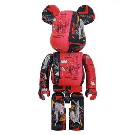 Bearbrick-Andy-Warhol-x-JM-Basquiat-1000