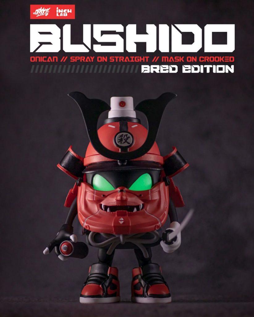Bushido Onican Crack Inch Lab Art Toy