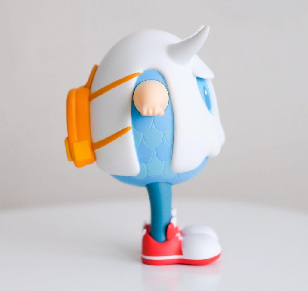 Eggie Art Toy Art Fabula