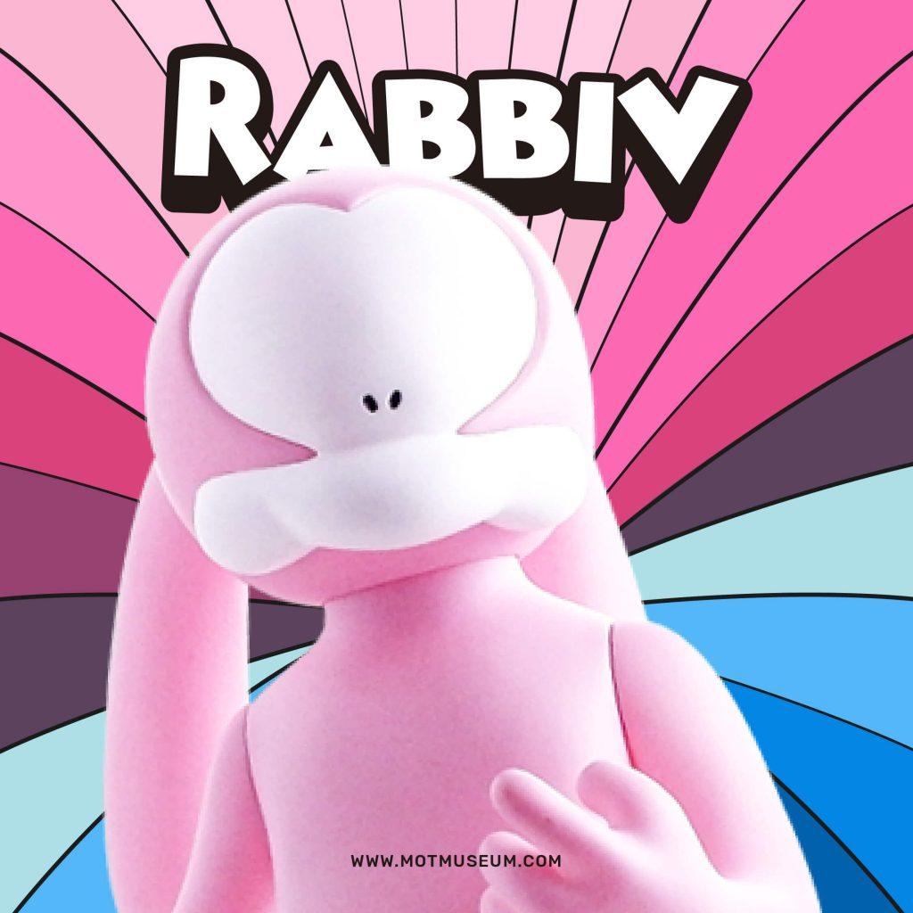 Rabbiv Vinyl Toy Arkiv Vilmansa Museum of Toys