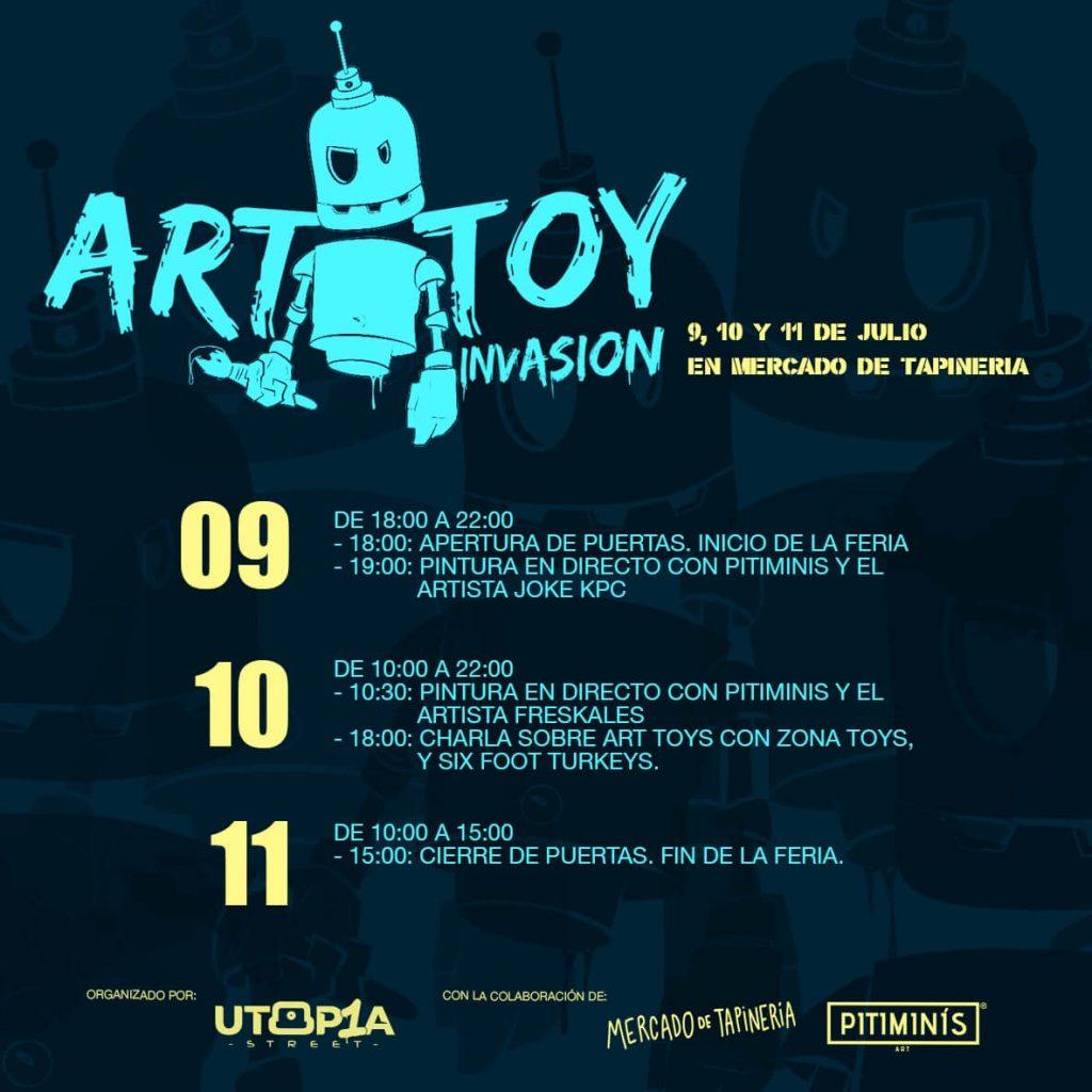 Art Toy Invasion